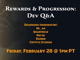 Dev Q&A Live Stream - Feb. 28!