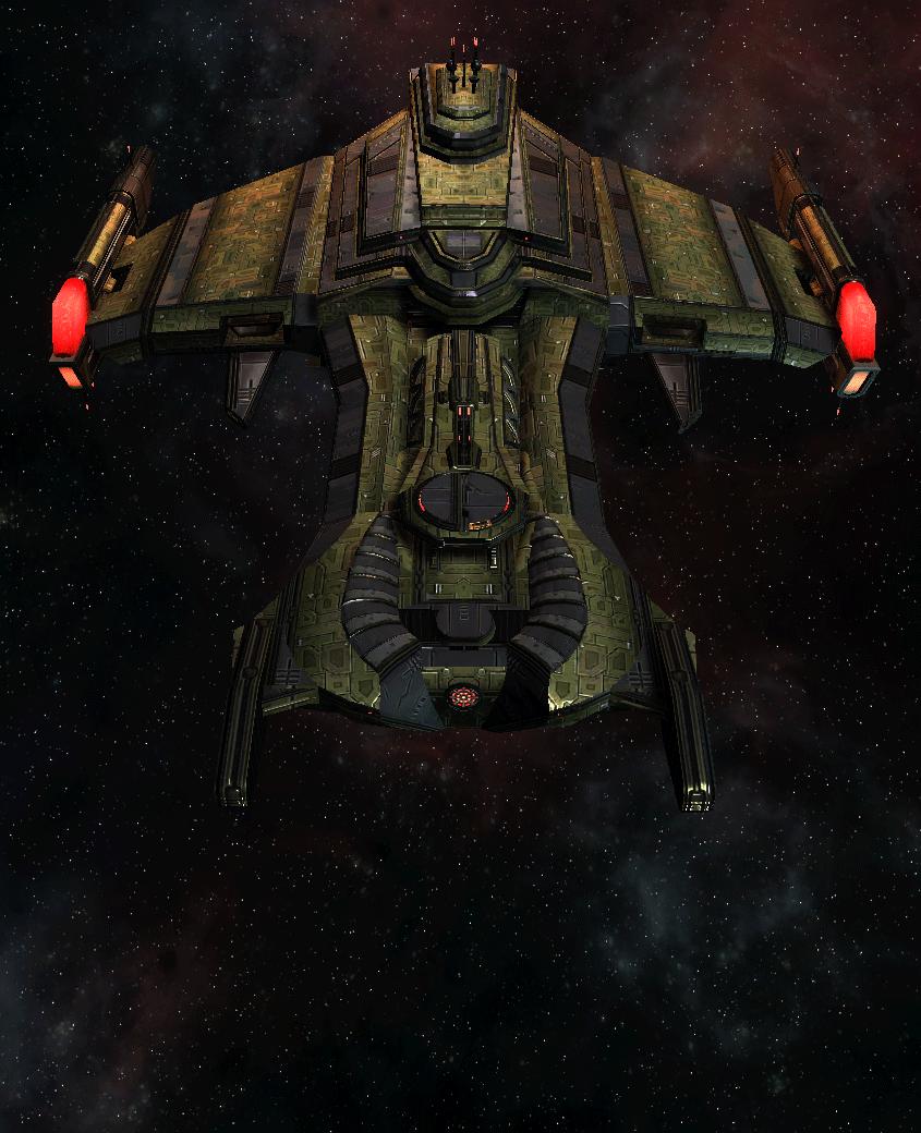 Klingon Command Ship 13