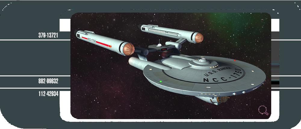 TOS Era Ships | Faces of the Ranger