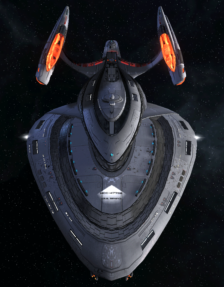 Starfleet Federation Command Ship 13