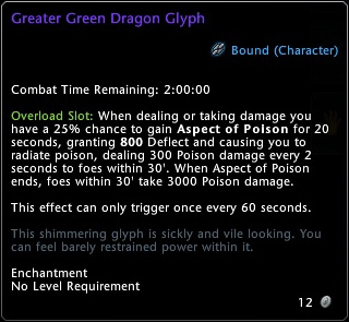 Greater Green Dragon Glyph