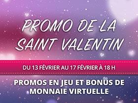 Promo de la Saint Valentin