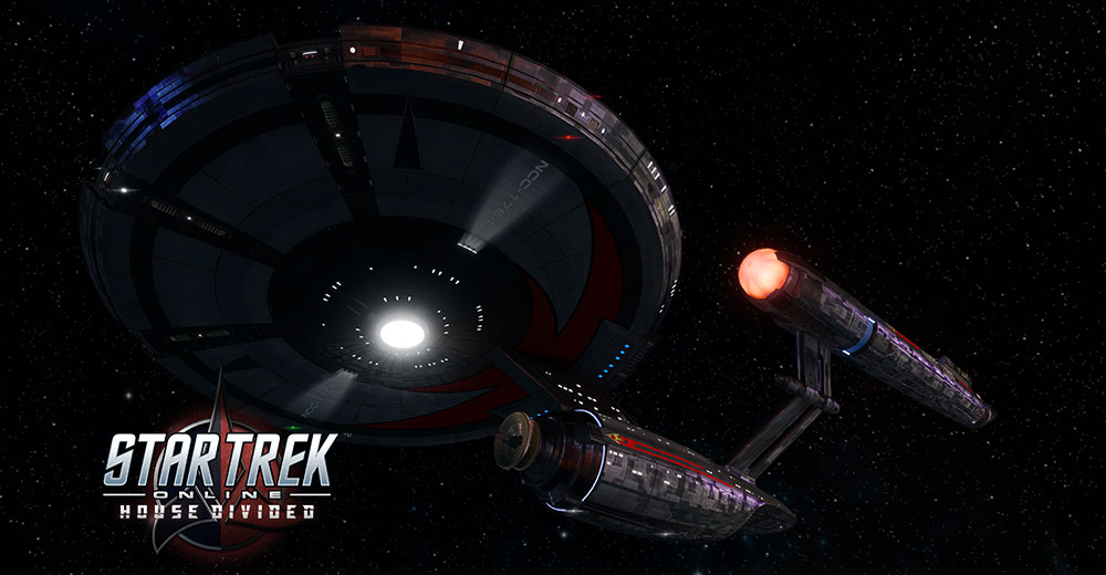 Star Trek Online's Newest Ship, the T6 Mirror Warship