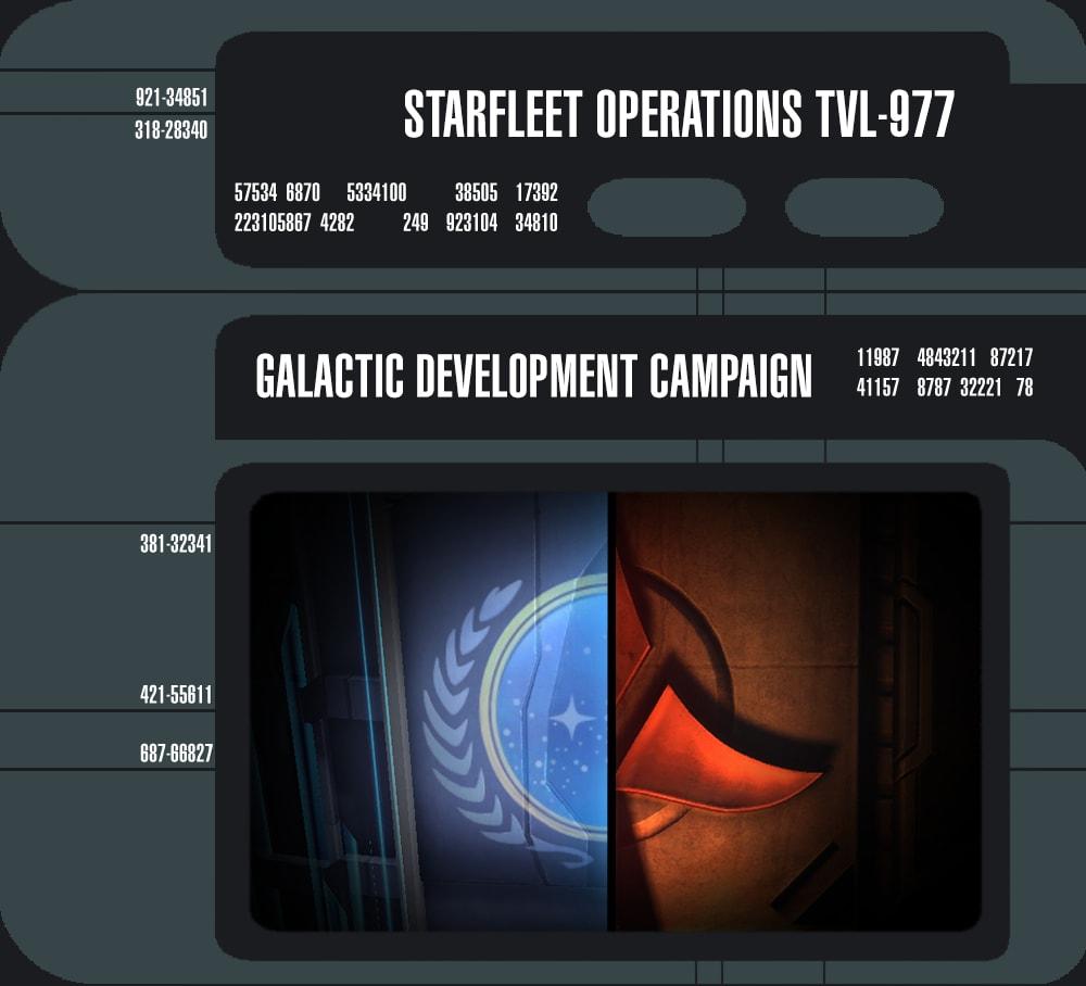 Star Trek Online: Galactic Development Campaign 27b5c379f77caff86d3c0b5e1d0a0ae21452705859