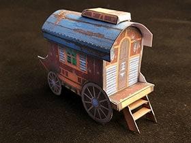 Бумажная модель: Фургон Мадам Евы