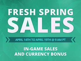 2021 Fresh Spring Sales