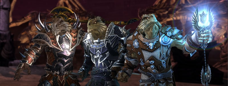 First Ever Dragonborn Race in Neverwinter