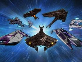 Statistiques et compétences des vaisseaux Jem'Hadar Vanguard et Cardassian Intelligence