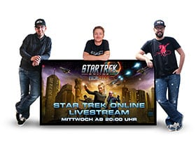 Star Trek Online Livestream auf Twitch.tv