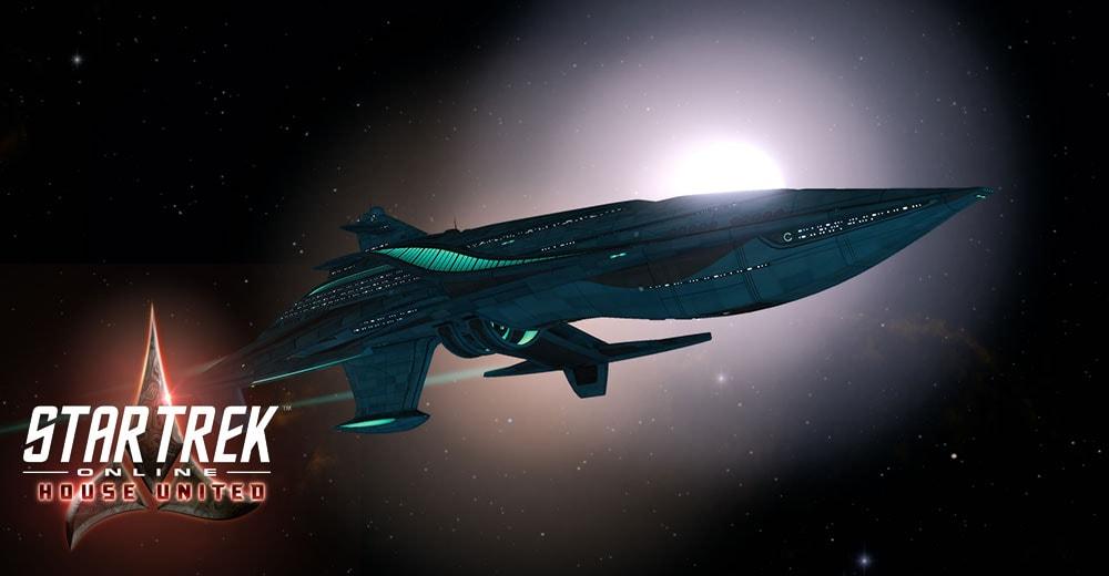 The T6 Risian Luxury Cruiser from Star Trek Online