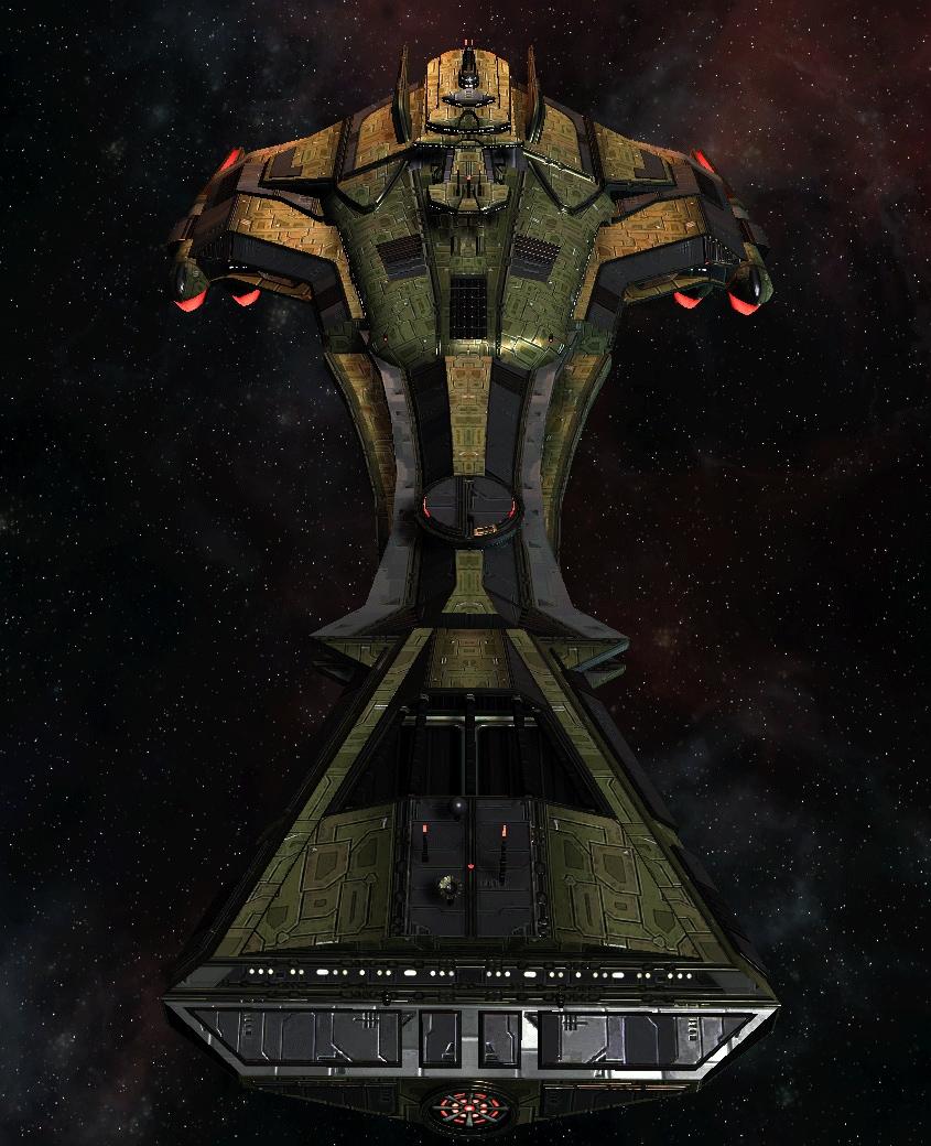 Klingon Command Ship 21