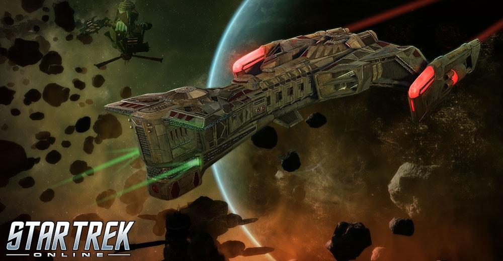 Some really big Klingon ship in Star Trek Online