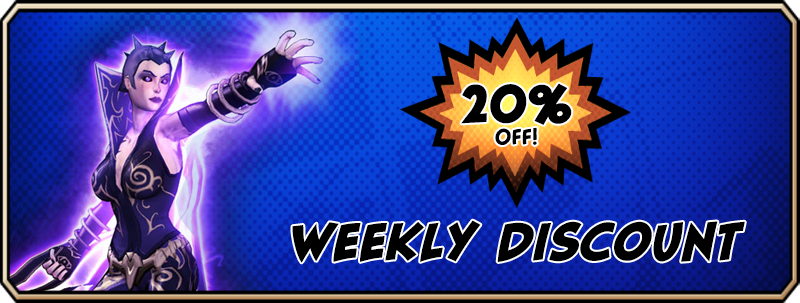 Weekly Discount - Void Archetype   Champions Online