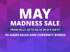 May Madness Currency Sale