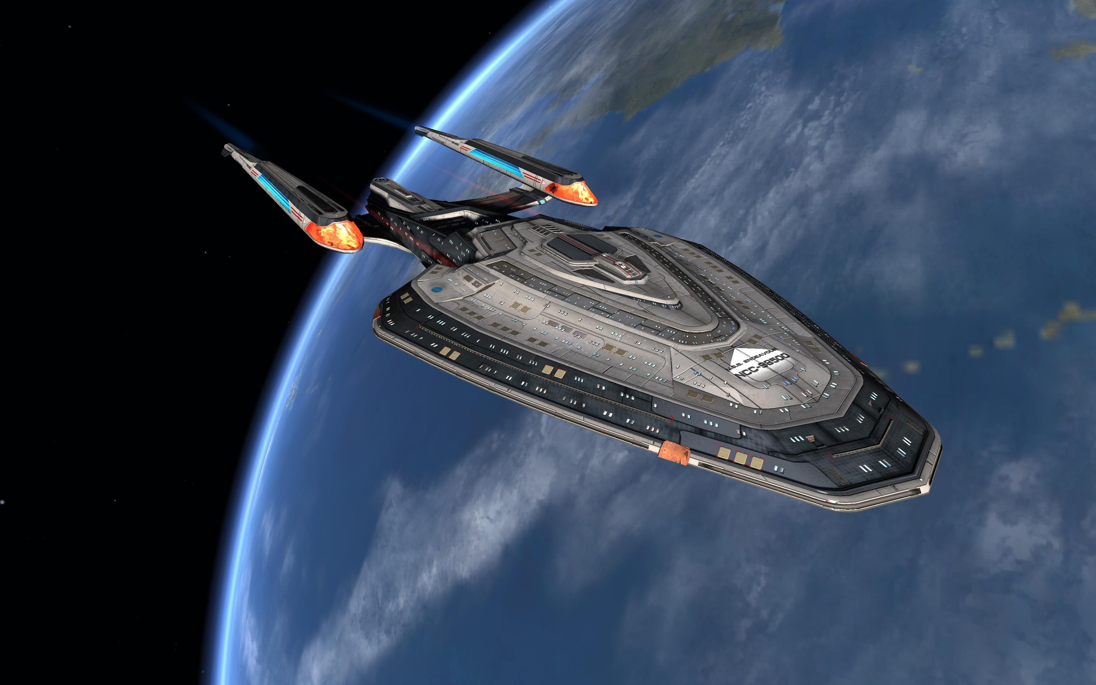 Star Trek Online: Art of Federation Ships | Star Trek Online