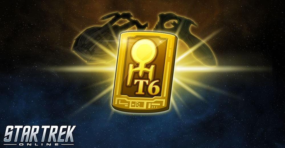 The Tier 6 coupon icon for Star Trek Online