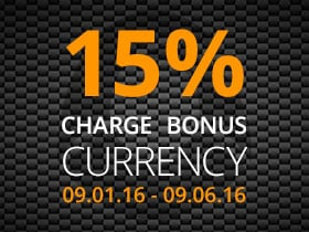 15% Charge Bonus Currency