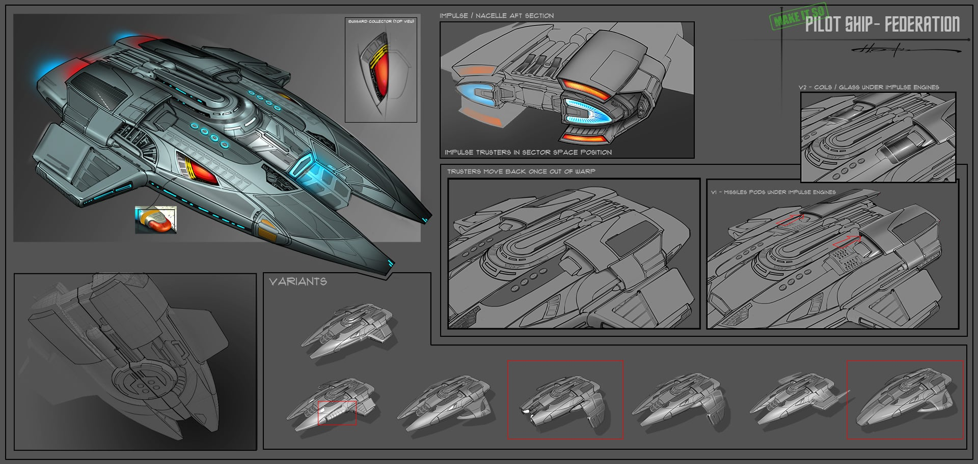 Star Trek Online: Art Of The Pilot Ships | Star Trek Online