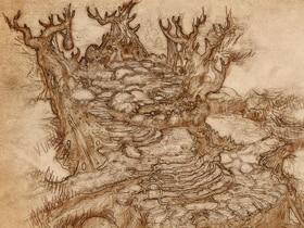 Journal de voyage dans la Forêt infestée