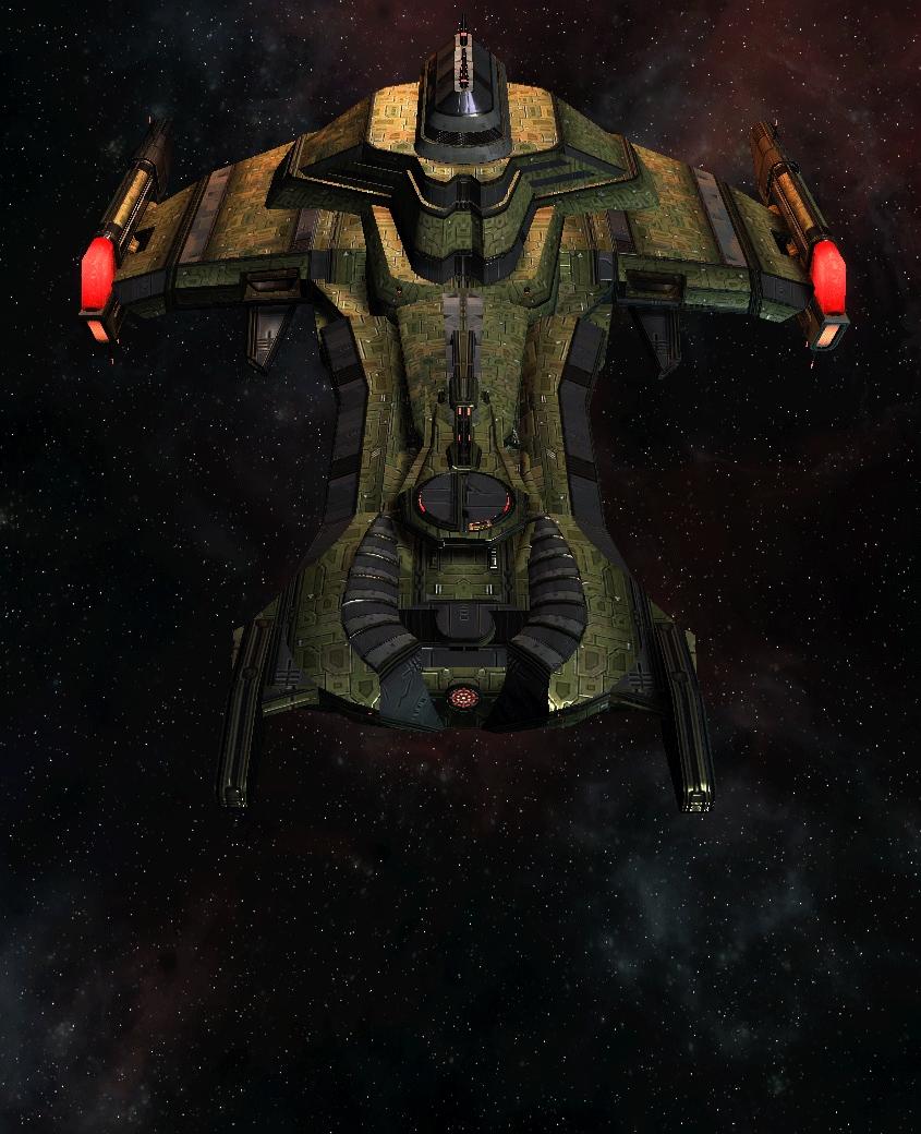 Klingon Command Ship 14