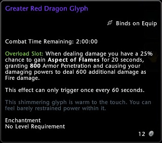 Great Red Dragon Glyph