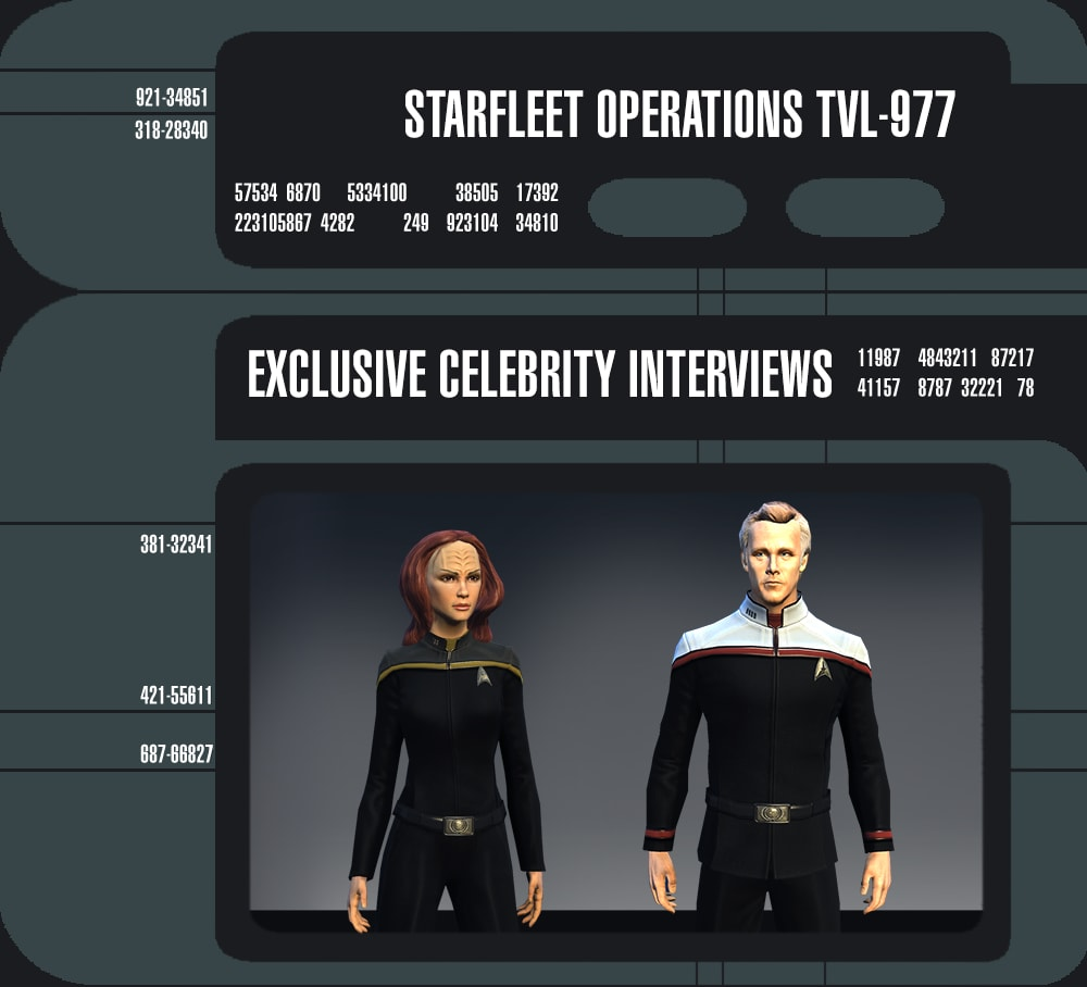 star trek online exclusive celebrity interviews star trek online star trek online season 10 the iconian war brings the familiar faces of robert duncan mcneill as tom paris and lisa locicero as miral paris