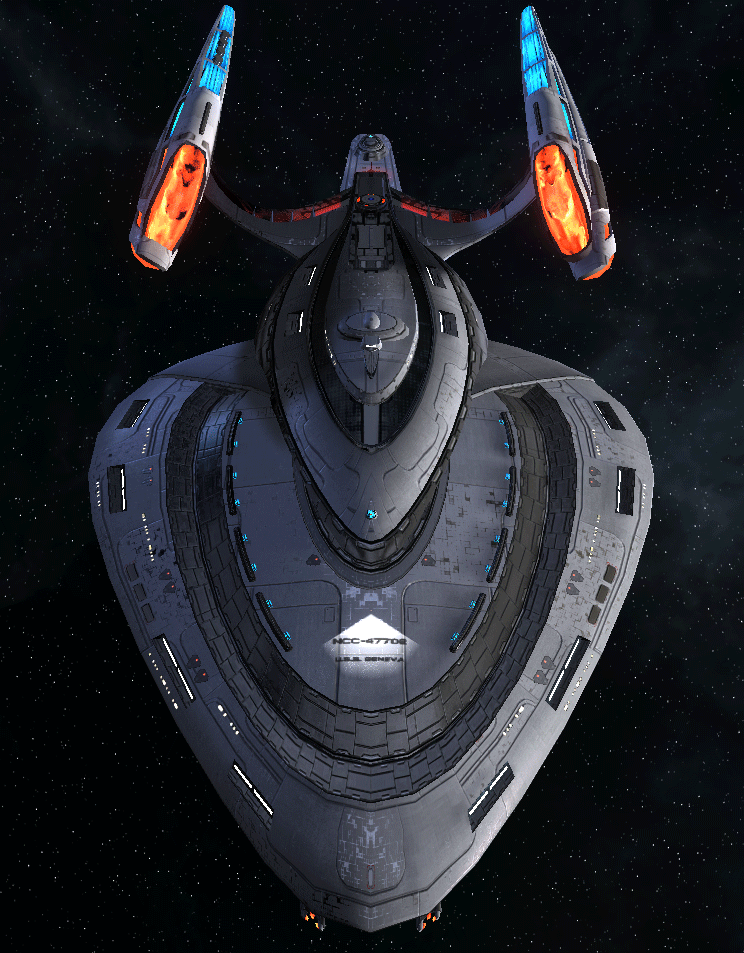 Starfleet Federation Command Ship 14
