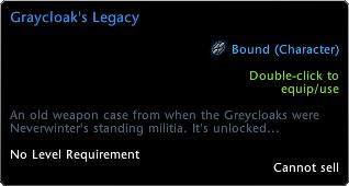 Graycloak's Legacy Tooltip