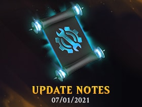 JULY 01, 2021 - UPDATE NOTES