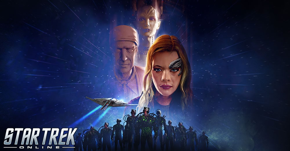 First Contact Day banner for Star Trek Online