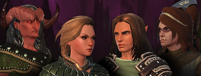 Hairstyles in Zen Market! | Neverwinter