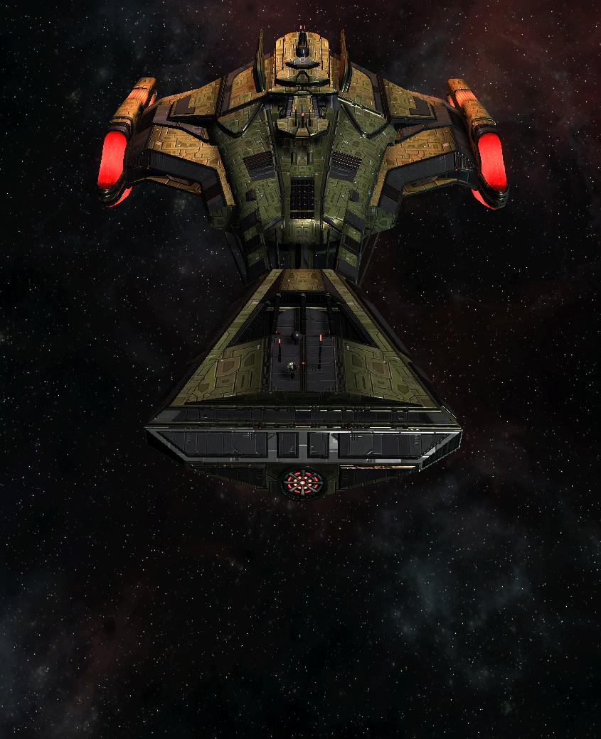 Klingon Command Ship 23
