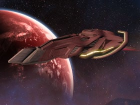 Command the T'Pau Scout Ship!