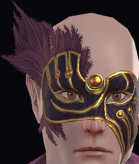Maschera dorata reale della Pietra Lunare