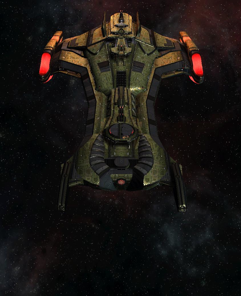 Klingon Command Ship 1