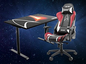 Win a Star Trek Branded Gaming Chair and Table!