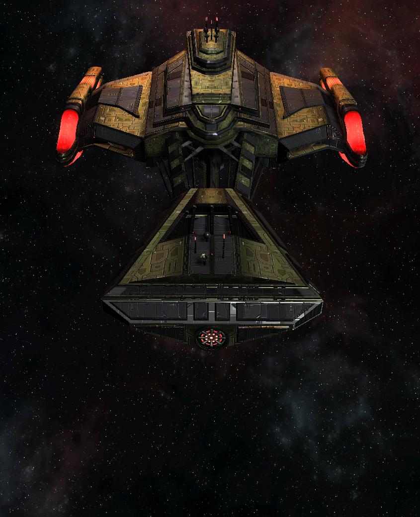 Klingon Command Ship 24
