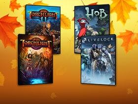 Октябрьская распродажа игр в Arc