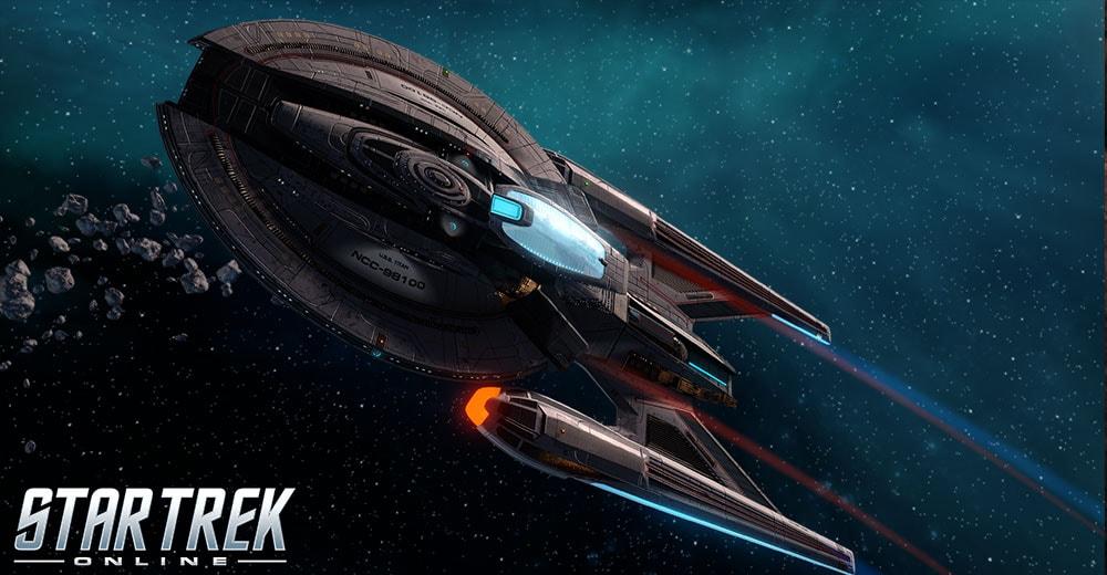 The Titan From Star Trek Online