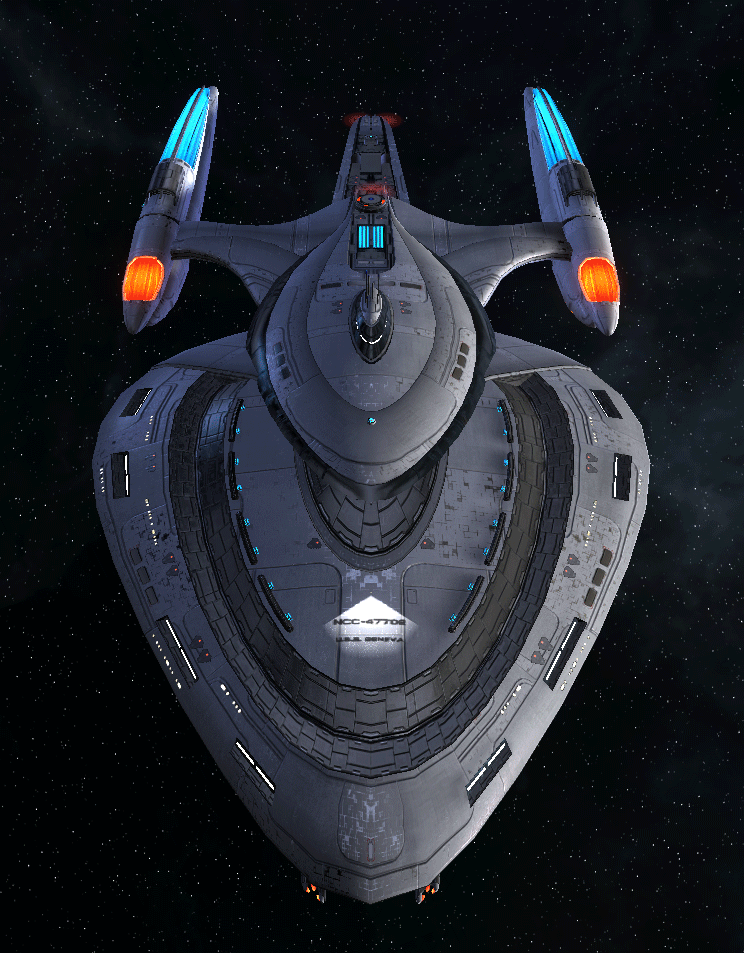 Starfleet Federation Command Ship 7