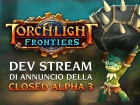 Livestream di annuncio della Closed Alpha 3