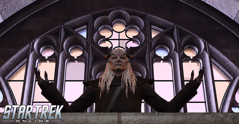 Tenevik, portrayed by Sam Witwer in Star Trek Online