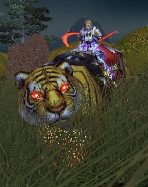 Blazing Tempest Tiger