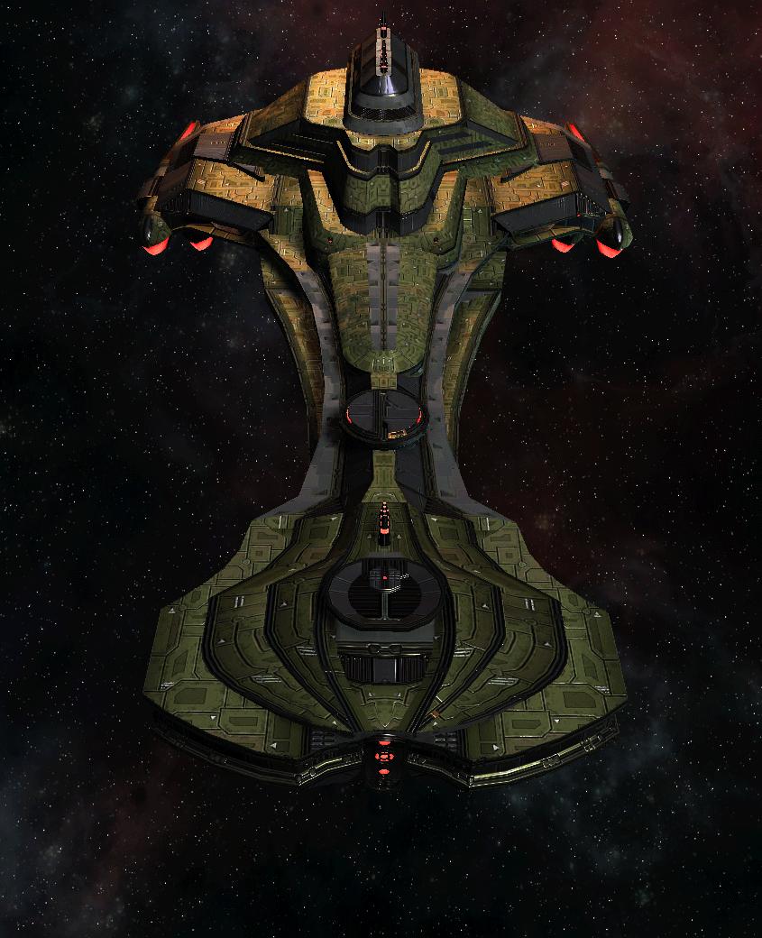 Klingon Command Ship 7