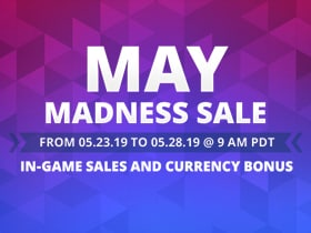 2019 May Madness Currency Sale