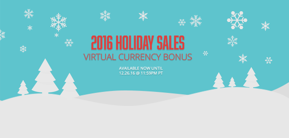 deck the halls with bounties of zen we re kicking off the holiday season with a plethora of bonuses and sales for all of our players