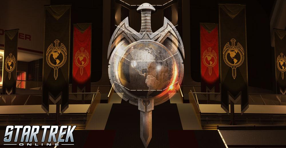 The seal of the Terran Empire in Star Trek Online