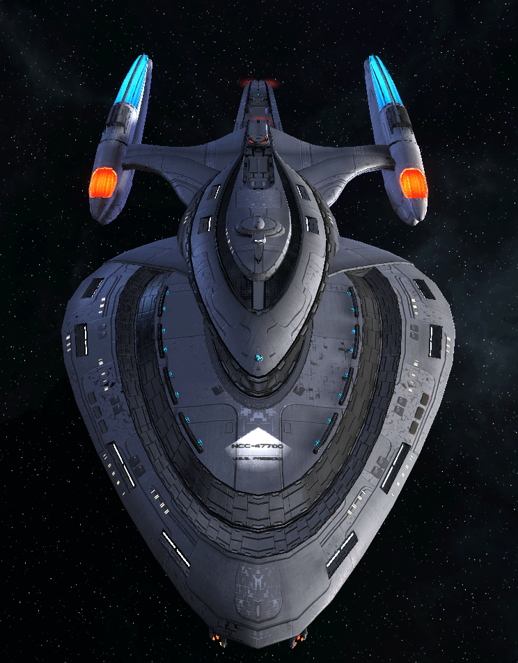 Starfleet Federation Command Ship 19
