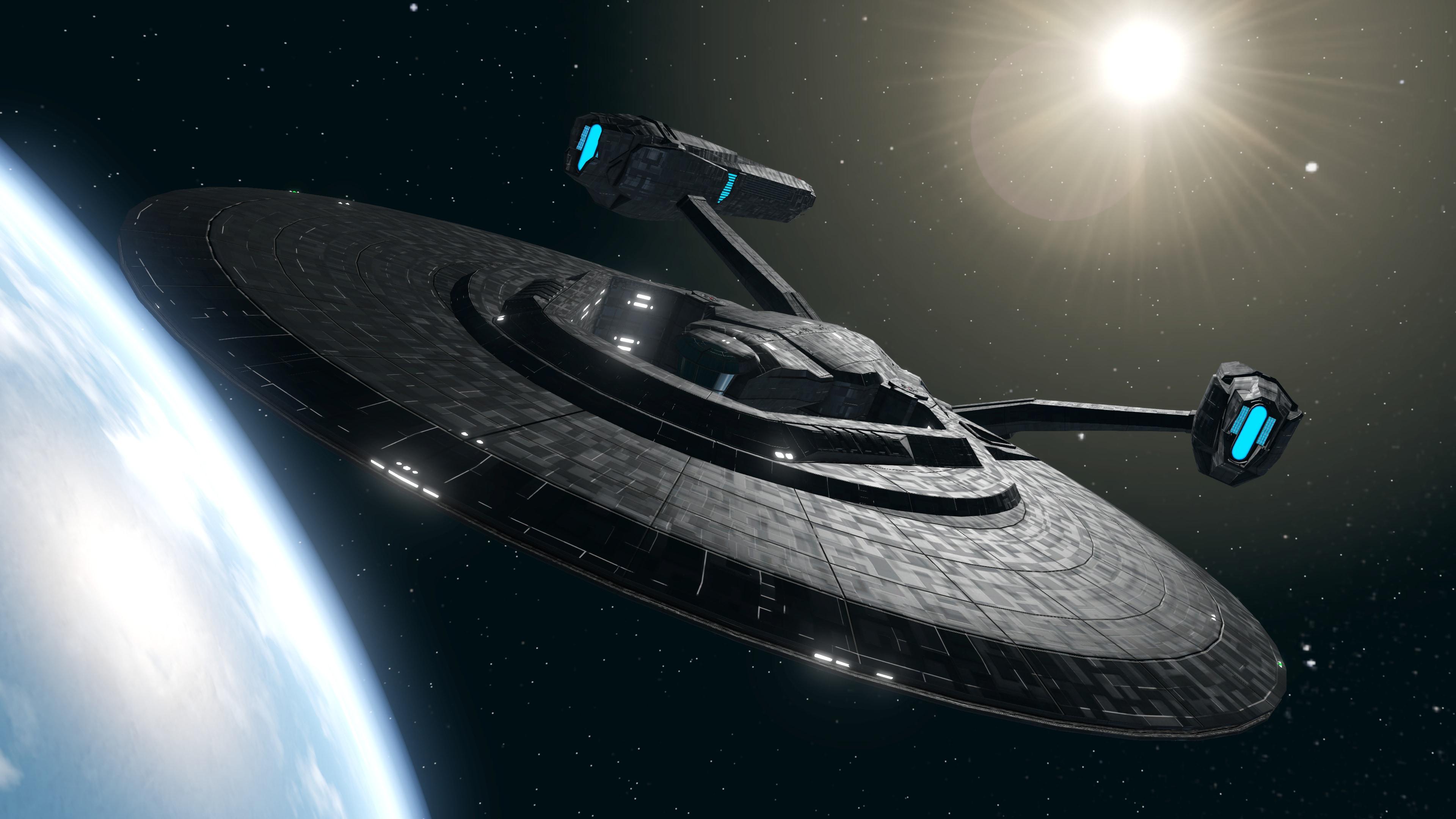 U S S  Vengeance Model Update!   Star Trek Online