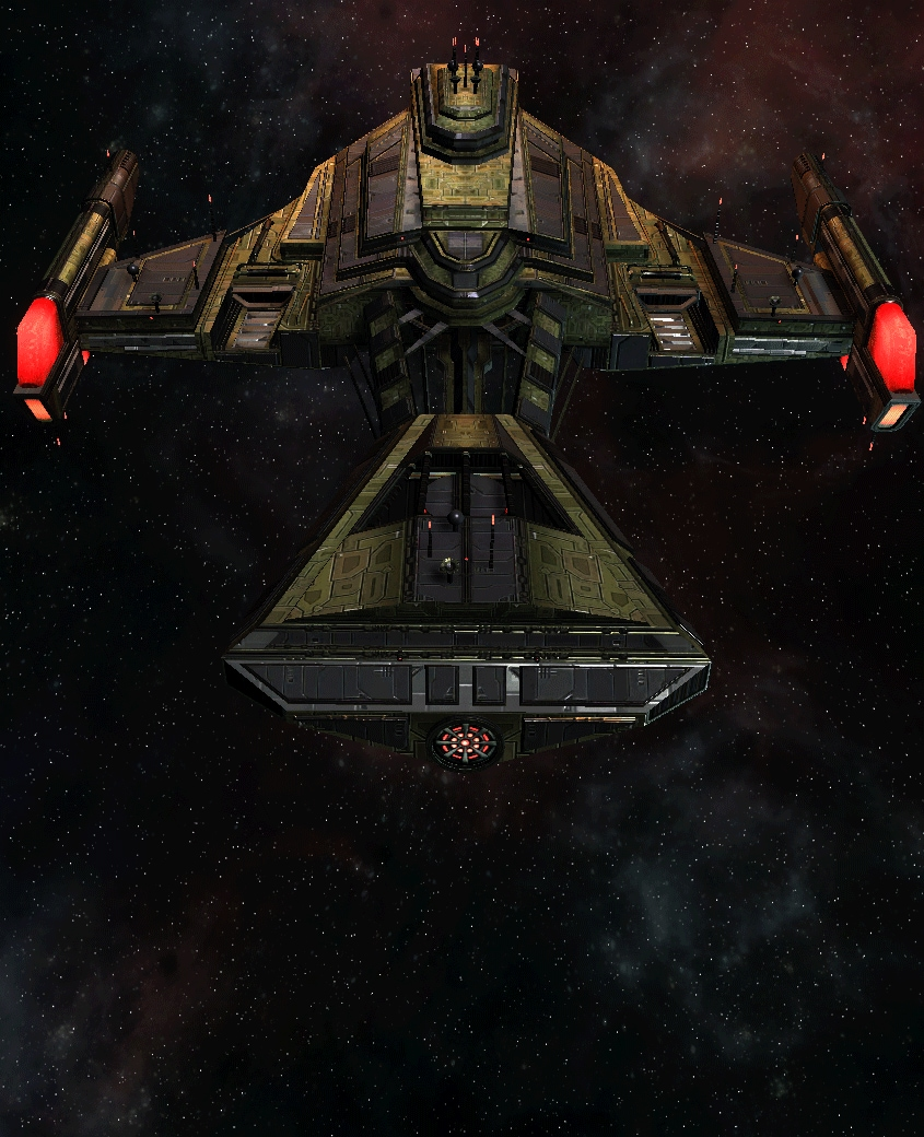 Klingon Command Ship 3